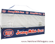 10 x 20 Custom Tent - Jersey Mike's Subs