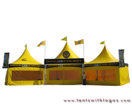 Custom High Peak Tent - Church of Scientology