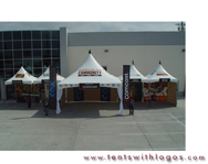 Custom High Peak Tents | Comcast & Cox