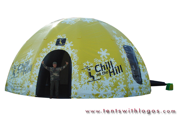 Inflatable Dome - Chill on the Hill