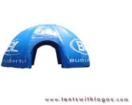 Inflatable Dome Tent - Bud Light