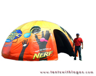 Inflatable Dome Tent - Cosmic Catch