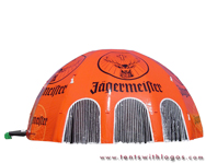 Inflatable Dome Tent - Jagermeister