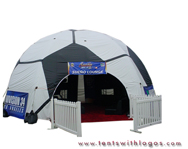 Inflatable Dome Tent - Univision 34