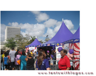 Festival Event Tents for Calle Ocho