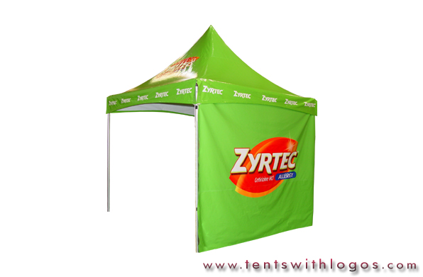 10 x 10 High Peak Tent - Zyrtec