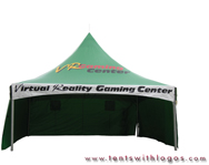 10 x 20 High Peak Tent - Virtual Reality Gaming Center