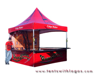 10 x 10 High Peak Tent - Crepe Maker