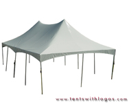 20 x 40 Double High Peak Tents