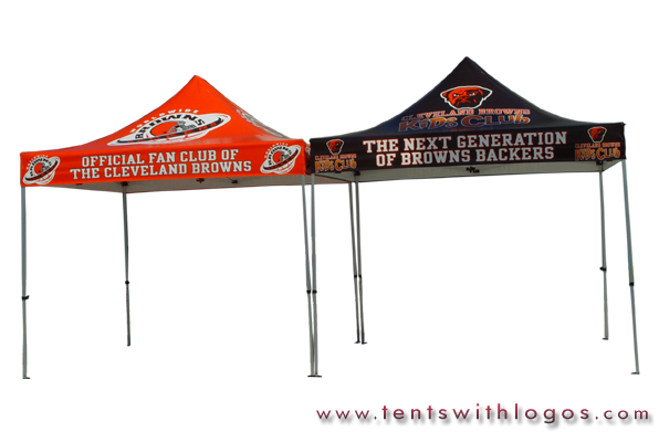 10 x 10 Pop Up Tents - Cleveland Browns