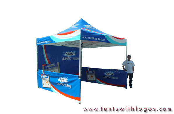 10 x 10 Pop Up Tent - Aquafresh