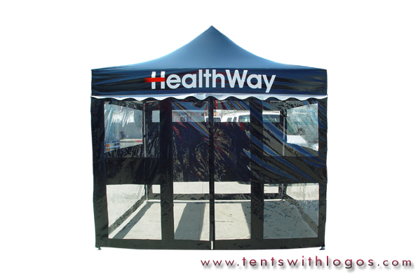 10 x 10 Pop Up Tent - Health Way