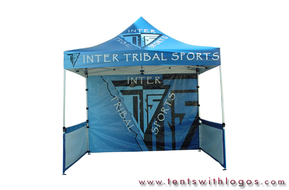 10 x 10 Pop Up Tent - Inter Tribal Sports