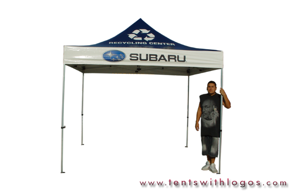 10 x 10 Pop Up Tent - Subaru