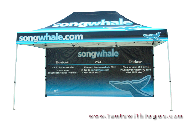 10 x 15 Pop Up Tent - Songwhale