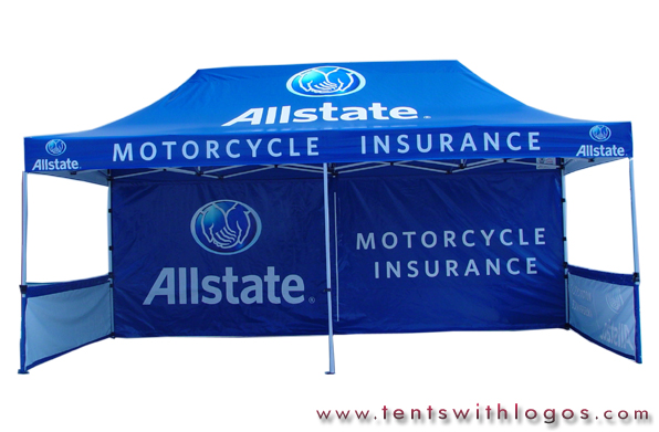10 x 20 Pop Up Tent - Allstate