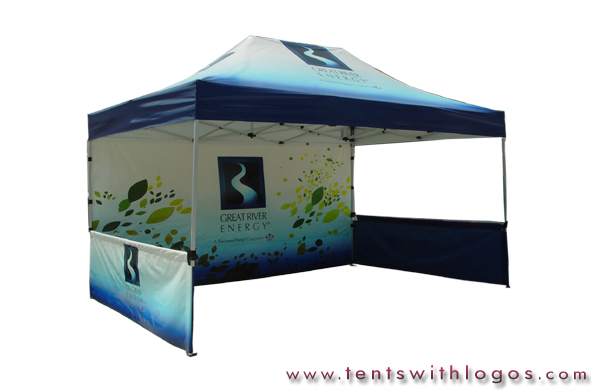 10 x 20 Pop Up Tent - Great River Energy