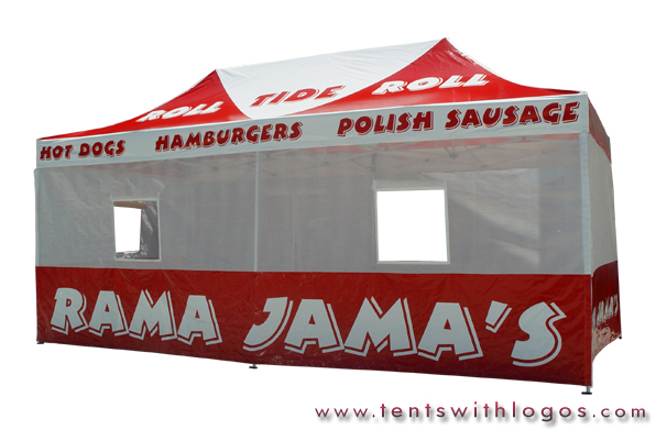 10 x 20 Pop Up Tent - Rama Jama's