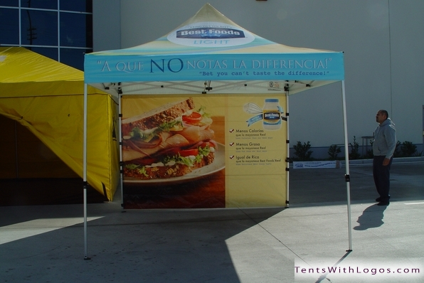 10 x 10 Pop Up Tent - Best Foods