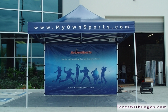 10 x 10 Pop Up Tent - My Own Sports