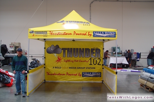 10 x 10 Pop Up Tent - Thunder