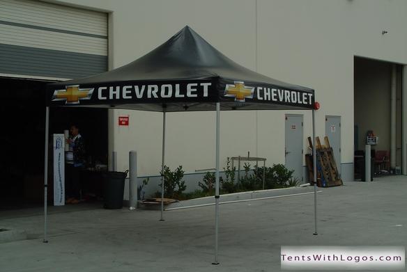 10 X 10 Pop Up Tent Chevrolet Www Tentswithlogos Com
