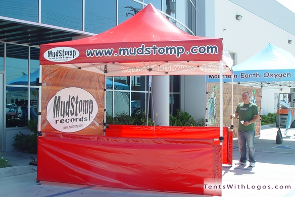 10 x 10 Pop Up Tent - Mudstomp