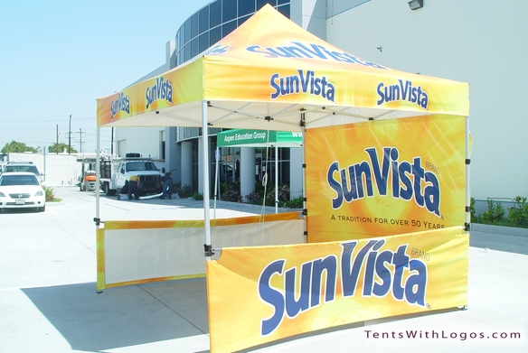 10 x 10 Pop Up Tent - SunVista