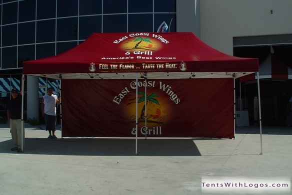 20 x 20 Pop Up Tent - East Coast Wings u0026 Grill & 10 x 20 Pop Up Tent | East Coast Wings u0026 Grill | www ...