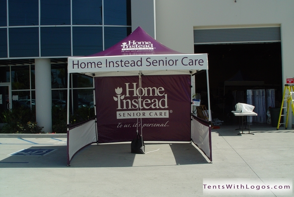 10 x 10 Pop Up Tent - Home Instead Senior Care