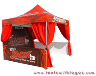 10 x 10 Pop Up Tent - 102.7 Jack FM
