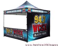 Radio Station Tents Www Tentswithlogos Com