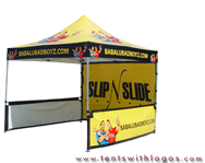 10 x 10 Pop Up Tent - Babalubadboyz