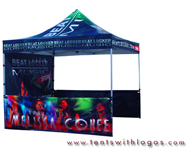 10 x 10 Pop Up Tent - Beat Locker