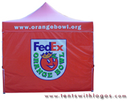 10 x 10 Pop Up Tent - FedEx