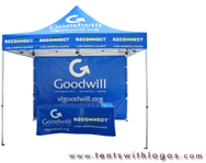 10 x 10 Pop Up Tent - Goodwill