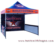10 x 10 Pop Up Tent - Harley Davidson