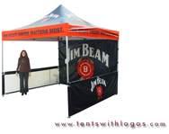 10 x 10 Pop Up Tent - Jim Beam