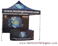 10 x 10 Pop Up Tent - Los Angeles Sol