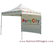 10 x 10 Pop Up Tent - Party City
