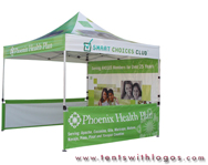 10 x 10 Pop Up Tent - Phoenix Health Plan