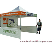 10 x 10 Pop Up Tent - Time Warner