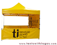 10 x 10 Pop Up Tent - Treasure Island