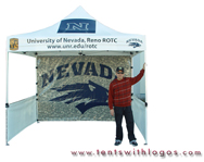 10 x 10 Pop Up Tent - University of Nevada