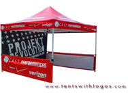 10 x 10 Pop Up Tent - Verizon