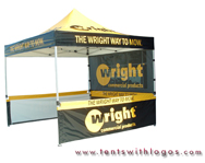 10 x 10 Pop Up Tent - Wright