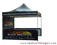 10 x 10 Pop Up Tent - Black Mountain
