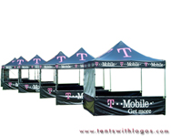 10 x 10 Pop Up Tents - Tmobile