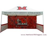 10 x 15 Pop Up Tent - Miami University Athletics