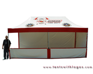 10 x 20 Pop Up Tent - Burbank Fire Dept.